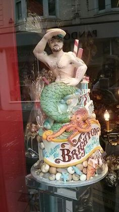 Brighton cake - Chocciwokkidoodaa Brighton