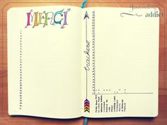 bullet journal calendrier pages mensuelles 3