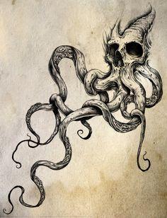 """""""Skulltapus"""" By Shawn Coss"""