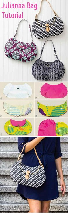 Julianna Bag Tutorial www.handmadiya.co...