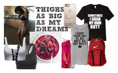 """""""Thighs as big as my dreams"""" by bookworm528 ❤ liked on Polyvore featuring Casetify, NIKE and Puma"""