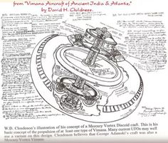 Flying chariots employed by the ancient gods of India. Described in amazing detail these flying machines appear to be vehicles of ancient alien technology.