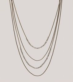 AEO Draped Chain Necklace