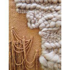 Woven Wall Hanging // Weaving Braided Tapestry