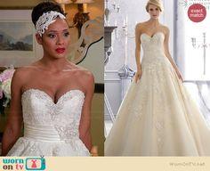Rosie's wedding dress on Devious Maids.  Outfit Details: http://wornontv.net/34848/ #DeviousMaids