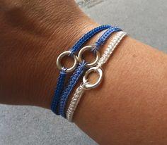 SoftFlexGirl: DIY Soft Flex Macrame 3-Strand Bracelet
