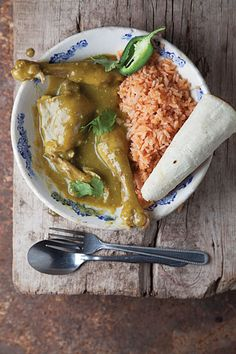 Mole Verde Zacatecano (Zacatecas-Style Green Mole with Chicken)  Lighter and simpler than the nut-enriched moles of Puebla and Oaxaca, this Zacatecan version is made with fresh tomatillos, cilantro, jalapeños, and garlic. This recipe first appeared in our May 2011 issue, with the article Mexico Feeds Me.  From: saveur.com