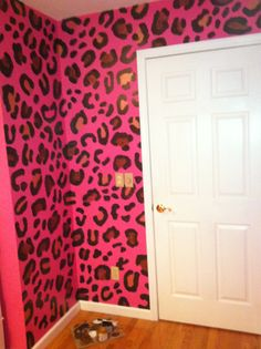Love. When I have my own room just for makeup clothes and hair this is what the walls will look like