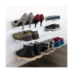 wall shoe storage