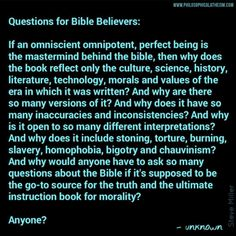 #AskTheBelievers #BibleMythology - TH