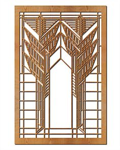 """This stunning Dana Sumac Hardwood Art Screen Wall Panel measures 35.5"""" x 23.5"""" x .5"""" depth and has been precision laser-cut and comes with a cherry veneer finish."""