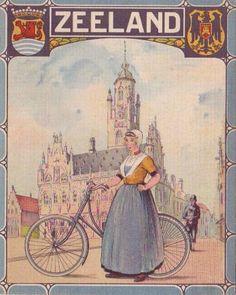 Set van 9 provinciaalse fietskaarten van Nederland- 1927 - Catawiki