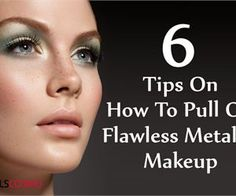 5 Tips On How To Pull Off Flawless Metallic Makeup | GilsCosmo.com - Shopping made easy!