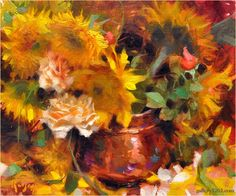 "Daniel Keys | ""Sunflowers and Copper"""