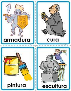 Picture Speech Language Therapy, Speech And Language, Language Arts, Montessori Activities, Alphabet Activities, Spanish Pictures, Classroom Behavior Management, Spanish Words, Rhyming Words