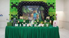 Decoração tema Minecraft | Art Fest
