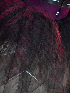 Red and Black Zebra Tutu Adult Medium by BethSophia on Etsy
