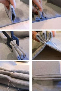Home-Dzine - How to make pinch pleat curtains