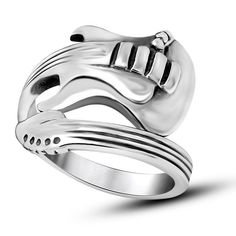 Jewelry & Accessories Hospitable 316l Stainless Steel Ring Personal Design Big Indian Biker Ring Bad Ass Mens Jewelry Silver Indian Ring