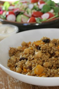 The Crafty Kitty | Curried Giant Couscous Salad Recipe #vegan
