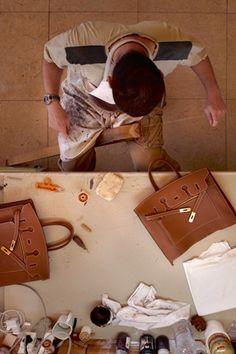 Hermes Leather Craftsman