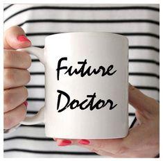 Future Doctor Mug, Medical Student Mug, Medical Student Coffee Mug, Medical School Gifts, Gifts For Medical Students, Medical School, Doctor Quotes, Medical Quotes, Medicine Student, Ideias Diy, Med Student, Med School, School Gifts