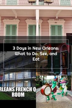 3 Days in New Orleans: What to Do, See, and Eat French Quarter, New Orleans, Eat