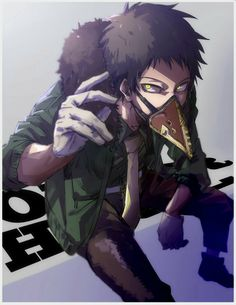Chisaki, Overhaul, villain, text; My Hero Academia