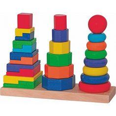 Купете Woody - Дървена низанка Кула