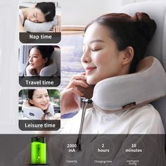CERVICAL VERTEBRA MASSAGER Built-in vibration motor, can massage the neck, promote your blood circulation and relieve fatigue, makes you relax the whole day. LONG LIFE USAGE The massage neck pillow made with a stable magnetic field and pure copper movement can be continuously operated for a long time. Shopping Mall, Online Shopping, Cool New Gadgets, Geek Things, Online Friends, Magnetic Field, Neck Massage, Neck Pillow, Pure Copper
