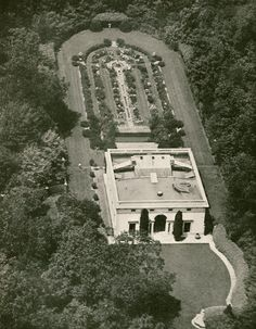 Whitney Estate OId Westbury | Sculptress Gertrude Vanderbilt [Mrs. Harry P.] Whitney commissioned Delano & Aldrich to design this enviable artist's studio at the 1000-acre Whitney estate Old Westbury, Long Island, NY.