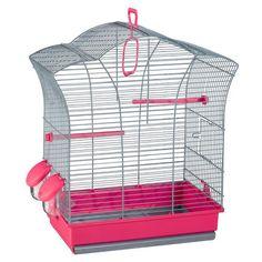 Cage petite au toit japonais pour canaris à 28€95 sur www.TiendAnimal.fr