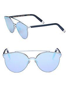 f2b9bf838a816 Gentle Monster Tilda Swinton X Gentle Monster Trick Of The Light 61MM  Mirrored Sunglasses