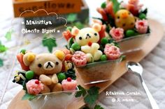 OMG!! It's Rilakkuma made out of mash. To see more cute stuff visit http://whykawaii.com!
