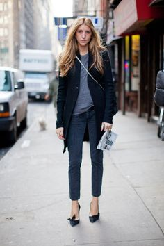 Street Style Fall 2013 - New York Fashion Week Street Style - Harper's BAZAAR