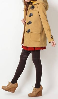 Like the coat a lot but not the shoes!