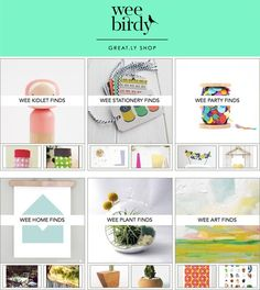 The Wee Birdy Great.ly Shop is Now Open! - Wee Birdy