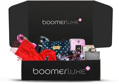 Boomerluxe is an appreciation gift box that is curated for women 50+. Each monthly box will contain an interesting, quality and fun item from each of our 5 categories: Fashion, Beauty, Romance, Wellness & Technology. Products for women who are embracing life after 50 with the changes and confidence that only accomplishment and experience brings. All items are full size.