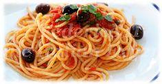 Federico II Genuine Italian Experience: Spaghetti alla puttanesca