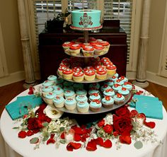 Red, Teal and Thursday : Claire+Michael Cedarwood Weddings | All Inclusive Designer Weddings | Cedarwood Weddings