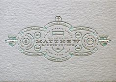 amazing letterpress