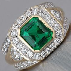 Square Green Stone Anniversasry Rings for Women Vintage Jewelry Luxury Pave Crystal Ring Engagement Gift Ring Accessories Emerald Jewelry, Turquoise Jewelry, Diamond Jewelry, Silver Jewelry, Men's Jewelry, Emerald Rings, Gold Jewellery, Yoga Jewelry, Jewelry Stores