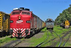 RailPictures.Net Photo: 8406 América Latina Logística MLW FPD7 at Santos Lugares, Argentina by Gabriel O. Castelo