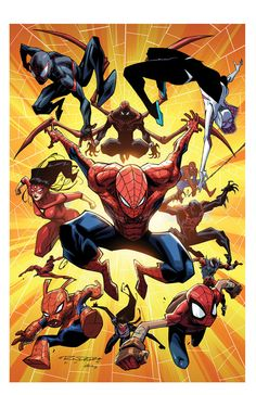 Spiderverse by KharyRandolph on DeviantArt