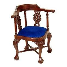 1700's style chippnedale corner chair
