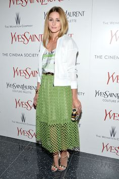 Olivia Palermo at an event in New York. See all of the model's best looks.
