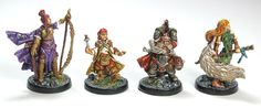 Painted Descent Miniatures 2nd Edition
