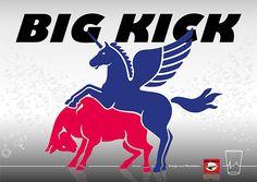 Wenn das Flying Horse und der Red Bull den Big Kick konsumieren ...