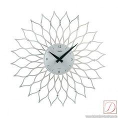 Wanduhr analog AMS Kunststoff D39cm - Stunde für Stunde begleitet Sie diese schöne Wanduhr durch den Tag. Dekorativ und in modernen Design lässt Sie diese Uhr die Zeit nicht mehr aus dem Auge verlieren.