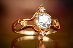 Sheffield Ring, Circa 1880 from Estate Diamond Jewelry.